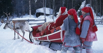 BLOG: HOW TO CHOOSE A FATHER CHRISTMAS HOLIDAY IN LAPLAND