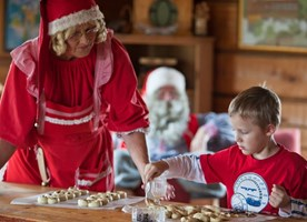 Luxury Father Christmas in Lapland