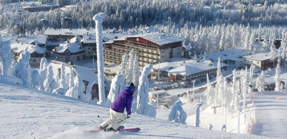 DECEMBER SKIING AND NORTHERN LIGHTS HOLIDAY IN RUKA LAPLAND 2019